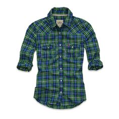 If I could wear a button down I'd be all over this!