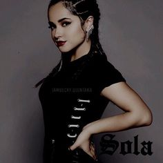 BUY SOLA ON ITUNES Found you in 2011. Feel in love with you even more in 2012. I stayed with you in 2014. Saw you go through a breakup in 2015. I'm still here in 2016~ Becky g