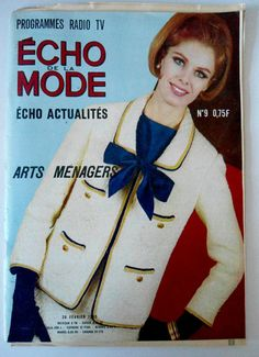 L'echo de la mode n°9 du 28/02/1965