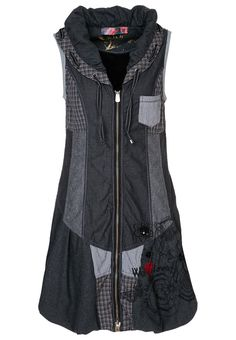 Desigual dress. This would be really cute with capri leggings and its a perfect hoodie for a summer night :) I really like this.