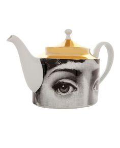 Unisex - Fornasetti Printed Porcelain Tea Pot - L'Eclaireur Shop
