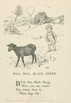 Baa, baa, black sheep - ID: 1701260 - NYPL Digital Gallery