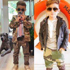 Ok seriously this kid has the same type of Damian's modern fashion style... Must update his wardrobe.