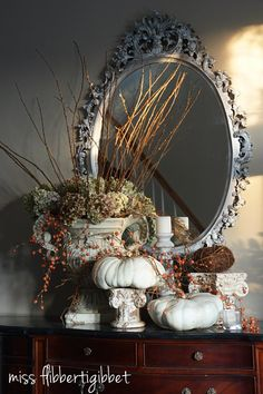 After Halloween decor...into Thanksgiving & before Christmas