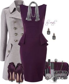 Not my color wheel, but definitely my fashion design taste! Beautiful-