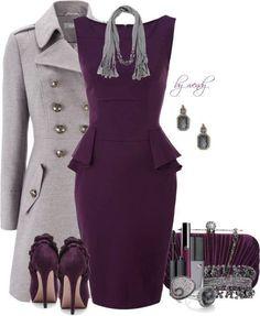 Not my color wheel, but definitely my fashion design taste! Beautiful-