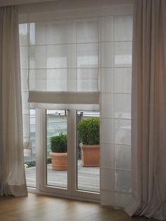 Die 9 besten Bilder von Faltrollos | Curtains with blinds, Blinds ...