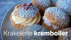 Mariaboller – Choux au craquelin Doughnut, Delicious Desserts, Muffin, Healthy Recipes, Baking, Breakfast, Food, Recipes, Sprouts