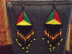Earth Wind and Fire Native Pride Earrings by IntuitiveCreations13,