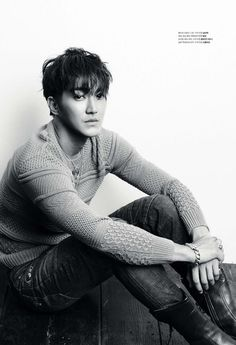 "Choi Si-Won (최시원) of Super Junior for ""1st Look"" Magazine"