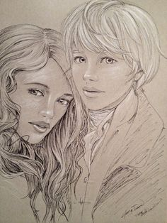 Jem Carstairs and Tessa Gray