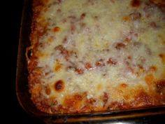 Baked Spagetti Casserole