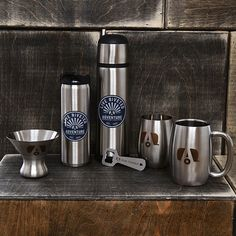 Airstream Stainless Double Wall Insulated Mug with Airstream Logo