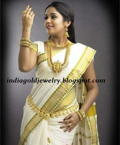 Ananya in Kerala Bridal jewellery