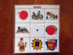 SINGING TIME IDEA: Singo - Bingo for singing time