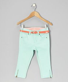 Loving this Yucca Yacht Capri Pants - Girls on #zulily! #zulilyfinds