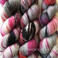 Simply Socks Yarn Company - KT Bespeckled Hanky Panky, $26.00 (http://www.simplysockyarn.com/kt-bespeckled-hanky-panky/)