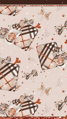 Iphone Wallpaper Fall, Glitter Wallpaper, Lock Screen Wallpaper, Thanksgiving Wallpaper, Holiday Wallpaper, Cute Backgrounds, Wallpaper Backgrounds, Phone Backgrounds, Starbucks Wallpaper