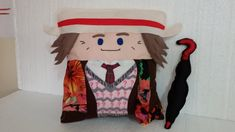 Handmade Doctor Who Seventh Doctor Plush Pillow by RbitencourtUSA.deviantart.com on @DeviantArt