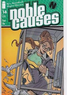 NOBLE CAUSES #14 Image Comics 2nd series Sex Secrets and Super Powers