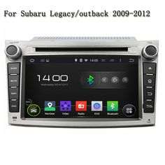 Android 5.1.1 DVD Radio Audio Mirror link Touch Screen 1G RAM Car Multimedia Player Stereo For Subaru Legacy/outback 2009-2012