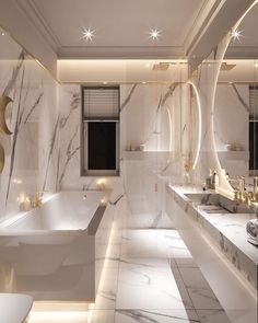 Bathroom Organization by Home Room Design, Dream Home Design, Home Interior Design, House Design, Interior Ideas, Modern Interior, Dream House Interior, Luxury Homes Dream Houses, Mansion Interior