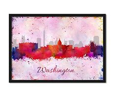Washington DC Skyline Abstract Watercolor Splatter Prints Cityscape Wall Hanging Home Décor Art Print #WatercolorArtPrint #SkylinePoster #WatercolorCitySkylinePoster #ColorfulAbstractWallArt #CityscapeWallArt #WashingtonDCPoster #ModernAbstractBrushArt #ModernOilPaintingArt #HomeDecorWallArt #WeddingGift #ArtBirthdayGift #WallHangingArtPoster   https://www.amazon.com/dp/B01MRM8ME4/ref=cm_sw_r_pi_dp_x_dmbmybRNWMFW7