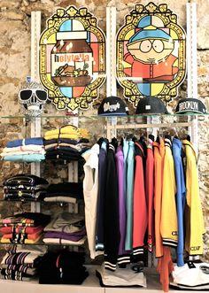 Intérieur de la boutique #clvii #mode #homme #streetwear #display #merchandising #deco #inspiration