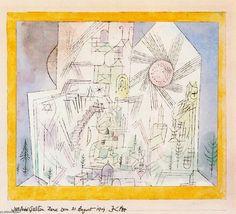 Sin título 2 de Paul Klee (1879-1940, Switzerland)