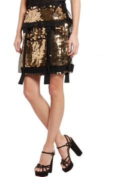 Shop on-sale Lanvin Sequined silk-organza mini skirt. Browse other discount designer Skirts & more on The Most Fashionable Fashion Outlet, THE OUTNET.COM