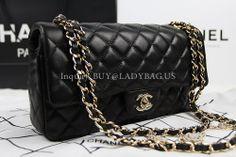 Chanel-38520 Lampskin Bag Black from USD370 buy@ladybag.us