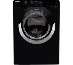 HOOVER DXA59BC3 Washing Machine - Black & Chrome
