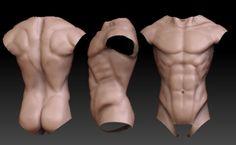 Ik ga een papier maché man maken dit zijn mijn voorbeelden voor de torso.