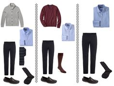 Whatever's Clean 13 FOR MEN - cool colors, cool weather