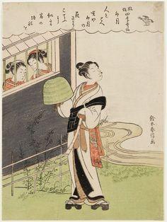 風俗四季哥仙 卯月 The Fourth Month (Uzuki), from the series Popular Customs and the Poetic Immortals in the Four Seasons