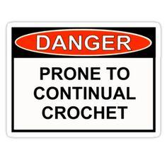 DANGER #crochet . renee all u
