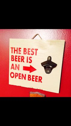 Beer signs - bottle opener signs - beer opener signs - beer sign - garage signs - man cave signs - bottle opener - cast iron bottle opener by SandJBargainVault on Etsy https://www.etsy.com/listing/237245789/beer-signs-bottle-opener-signs-beer