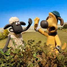 UK FANS set your TV reminders: catch brand new episodes of Shaun the Sheep every weekday at on starting THIS MONDAY! Cartoon Movies, Cute Cartoon, Sheep Art, Ice Cream Van, Shaun The Sheep, Adult Cartoons, Humor Grafico, Basset Hound, Cartoon Wallpaper