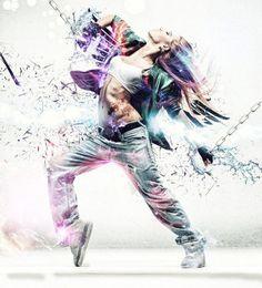 55 Gorgeous Dance Photo Manipulation Artworks and Tutorials Dance Photography Poses, Dance Poses, Street Dance, Dark Fantasy Art, Baile Hip Hop, Mode Hip Hop, Learn To Dance, Royal Ballet, Dance Fashion