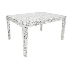 Milan Coffee Table in Cracked Eggshell