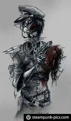 Steam punk art
