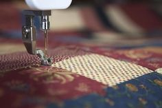 Quilting with Long Arm Machine