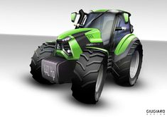 Deutz-Fahr set to launch its largest-ever #tractors with 440hp 11440, 400hp 11400 and 360hp 11360 featuring MTU/Merceds-Benz engines