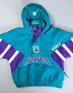 Hey, I found this really awesome Etsy listing at https://www.etsy.com/listing/193022340/vintage-1980s-starter-charlotte-hornets