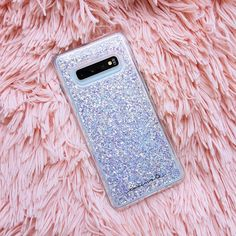 """Twinkle A fun twist on our classic Karat case, the Twinkle design has eye-catching, reflective iridescent glitter foil that changes at every angle. The """"twinkle"""" effect is sure to catch everyone's eye. Available for the Galaxy Plus. Phone Cases Samsung Galaxy, Samsung Device, Iphone Cases, Cute Cases, Cute Phone Cases, Ipod Touch Cases, Iphone Price, Kendall And Kylie, Phone Covers"""