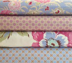 so pretty!!   Amy #Butler #fabric Gypsy Caravan fat quarter bundle 1 by sobrightfabrics
