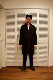 Y's Wardrobe: [NIKE paraboot]ジャージスタイルってのもいいと思うんです。楽だし。