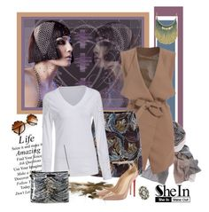 """""""SheIn 327."""" by carola-corana ❤ liked on Polyvore featuring мода, vintage и shein"""