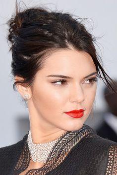 Cannes 2015 Kendall Jenner   #kendalljenner #statementredlips