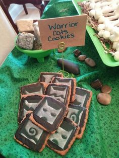 Warrior Cat Clan Cookies